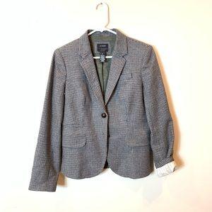 J Crew : plaid schoolboy blazer size 6